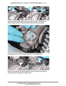 2017 Suzuki Eiger 400 Repair Manual