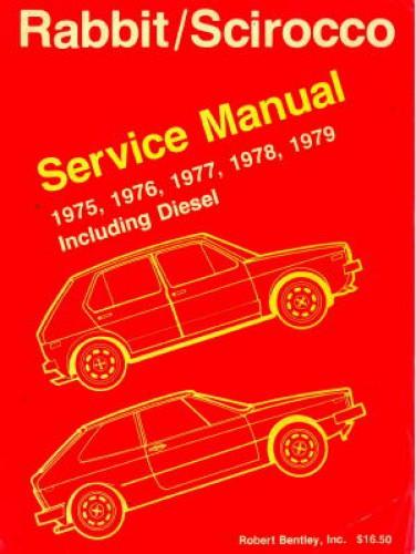 Used 1975 To 1979 Volkswagen Rabbit Scirocco Including Diesel
