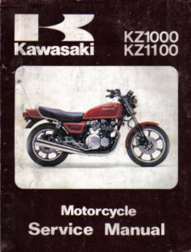 Used Kawasaki KZ1000 KZ1100 1981 Service Manual
