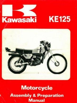 1970-1971 Kawasaki A7 Avenger 350 Motorcycle Owners Manual