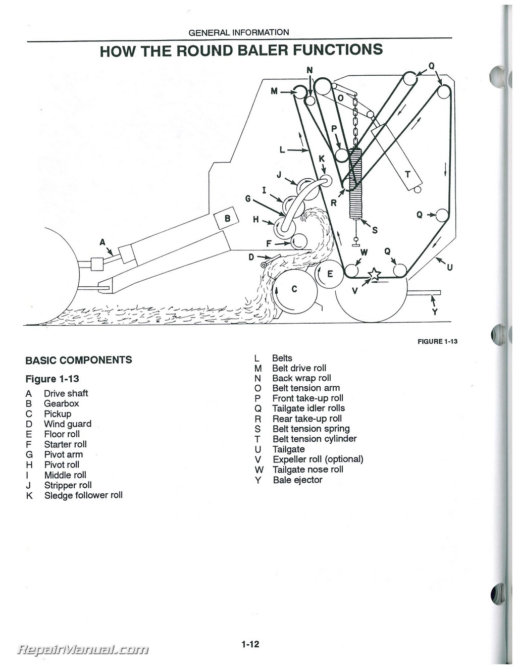 wiring diagram for 566 round baler