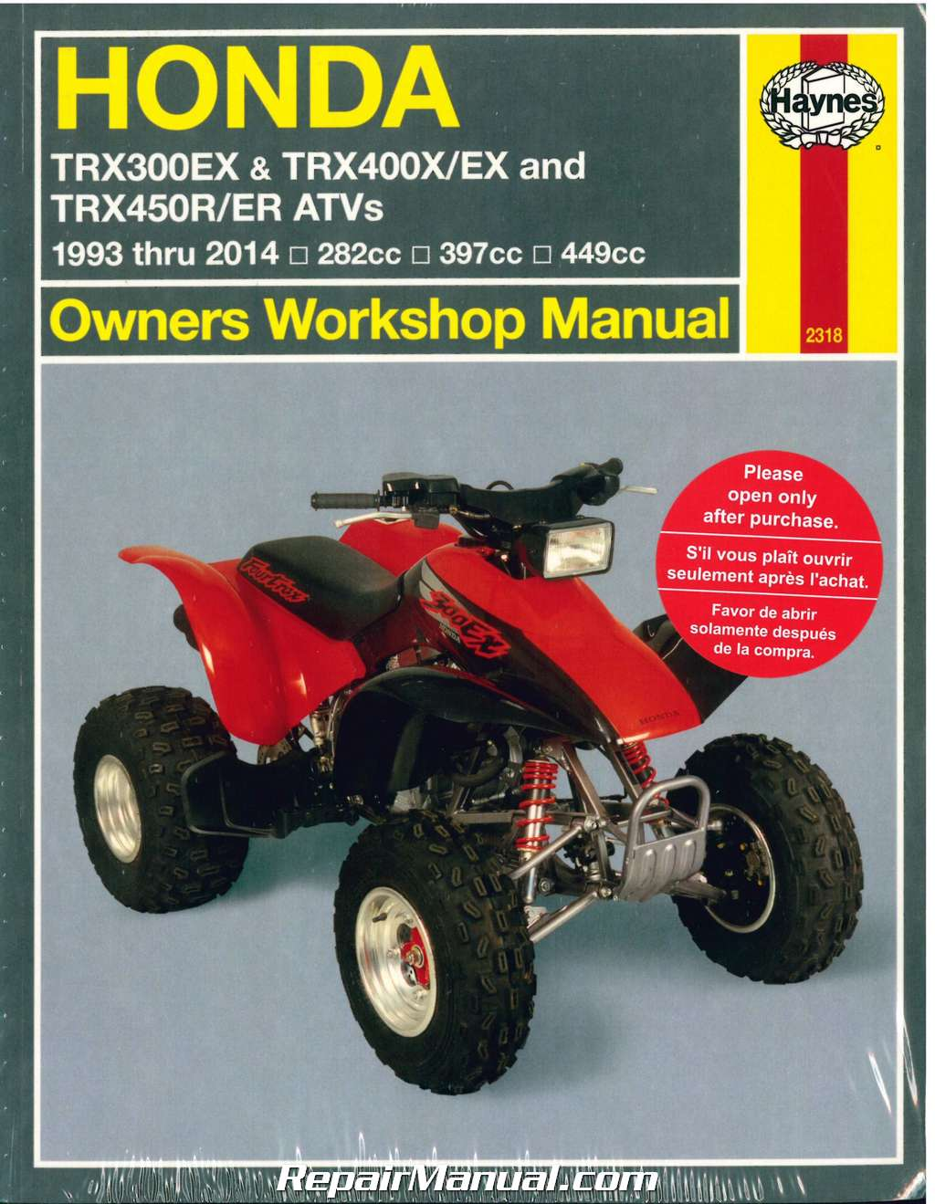 honda atv repair manual free