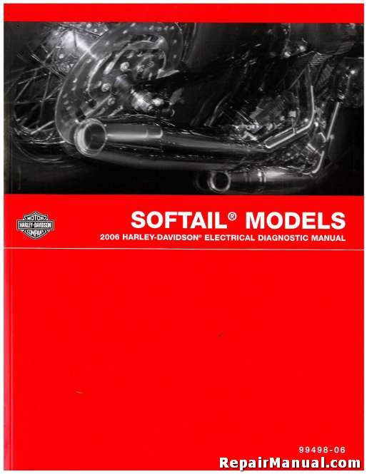 2006 Harley Davidson Softail Motorcycle Electrical Diagnostic Manual