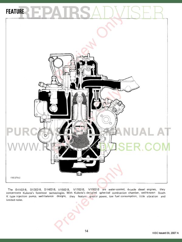 kubota v1702 engine manual pdf
