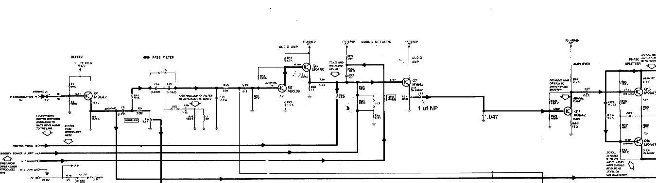 motorola spectra siren wiring diagram