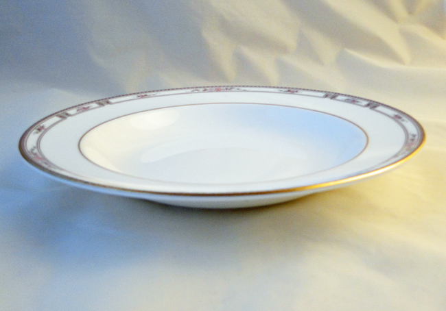 SaveEnlarge · Carousel Blue Rimmed Soup Bowls ... : soup bowls and plates - pezcame.com