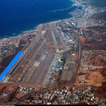 Chávez anuncia toma de terrenos del aeropuerto de Maiquetía. Eliminando toda posible expancion del mismo para construcción de viviendas.
