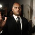 Saif al Islam, hijo del dirigente libio Muamar Gadafi, ha ordeno el ataque aereo contra indefensos manifestantes.