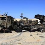 Tropas de Gadafi rodean Ajdabiya pese a los ataques aéreos británicos que diezmaron sus baterías antiaéreas.