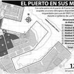 De 8 patios en el Puerto Cabello, Makled ocupaba un octavo del espacio disponible.