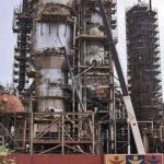 La refinería El Palito tuvo que suspender el procesamiento de crudo.