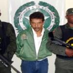 """El narco-terrorista alias """"Genaro"""", miembro de la columna móvil 'Teófilo Forero' de las FARC, es acusado de planear el secuestro de varios políticos, entre ellos el del senador Jorge Gechem Turbay, en 2002."""