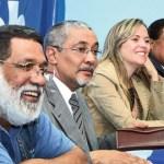 Luis Tellería a la izquierda criticó lo que llamó las posiciones de derecha que asume la dirección nacional, encabezada por José Albornoz.