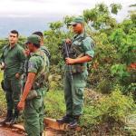 Los militares en los distritos de la FAN tienen tareas de resguardo fronterizo y participación en áreas sociales.