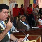 El comandante estratégico operacional de la Fuerza Armada Nacional Bolivariana (FANB), general en jefe Henry Rangel