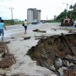 El Ejecutivo se equivocó en A principios de abril una falla de borde afectó un puente en Boca de Uchire que restringió el paso por la troncal 9