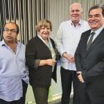 Jesús Cabezas, Cecilia Sosa, Rafael Simón Jiménez y Gustavo Briceño integrantes del Frente de Entendimiento Nacional.