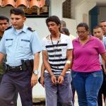 Lorent Saleh fue golpeado el lunes durante una protesta en el Circuito Penal de Barinas.