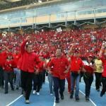 Grupos de izquierda así como el presidente de Uruguay y el premier de Grenada hicieron votos por la pronta recuperación del mandatario.