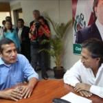 """El expresidente Alejandro Toledo anuncia su """"apoyo sin ambigüedades"""" a Humala."""