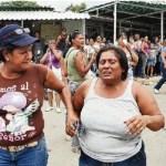 Familiares pedían a gritos que fueran publicadas las listas de los muertos y heridos del motín.