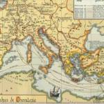 mapa mediterraneo