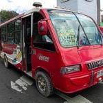 Entre setenta y ochenta por ciento de conductores del transporte público del estado Táchira se unieron en una acción de protesta.