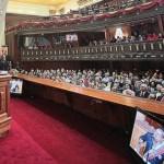El discurso de Chávez ante la Asamblea Nacional una maratónica alocución que duró 9 horas y 27 minutos.