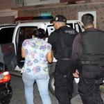 Una ciudadana detenida por guarda supuesta relación con la investigación del atentado contra Aguilarte parte de los allanamientos practicados.