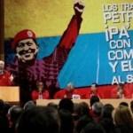 El discurso del ministro Rafael Ramírez era interrumpido con la consigna: Pdvsa chavista y antiimperialista.
