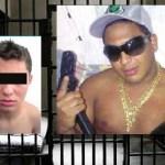 """Pedro Bastidas Perdomo (izq.) """"El Unai"""", detenido.  El Renzo"""", (der.) dueño del armamento implicado en el atentado."""
