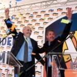 Henri Falcón e Ismael García, comprometidos con el triunfo de la candidatura de Capriles.