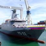 El 2 de agosto, en el astillero de Puerto Real, en la bahía de Cádiz, Navantia hizo entrega a la Armada de Venezuela del patrullero oceánico Warao (PC-22).