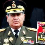 EUU conoce los antecedentes del  ministro de Defensa general Henry Rangel Silva, acusado de vínculos con el narcotráfico y la guerrilla colombiana de las FARC.