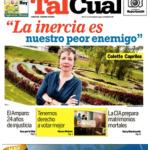 Tal Cual portada Colette Capriles