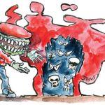 el tsunami rojo de chavez y la complicidad del cne