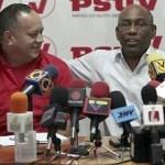 Aristóbulo Istúriz y Diosdado Cabello jerarcas del Psuv, reafirmaron el respaldo a Luis Acuña ante fricciones en Sucre.