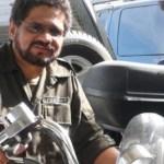 Todo indica que la foto del jefe guerrillero en una Harley habría sido en el Fuerte Tiuna.