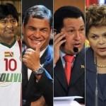 Cristina Fernández se traslada a diario en helicóptero a la Casa Rosada. Bolivia gasta millones en retransmitir los actos del presidente Morales, incluidos sus partidos de fin de semana.