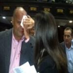 El diputado Julio Borges explicó que en el desarrollo de la sesión de la Asamblea Nacional fue víctima de agresión, al igual que el diputado William Dávila.