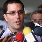 El vicepresidente Ejecutivo de la República, Jorge Arreaza, uno de los mencionados en el audio de Mario Silva.