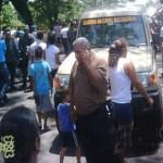 Exigen libertad para los detenidos de Orope. Los familiares estuvieron acompañados por los parlamentarios del bloque opositor del Táchira.