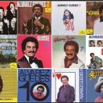 Carátulas de discos grabados por Alvarez Guedes. Cortesía / Familia Alvarez Guedes.