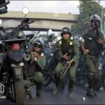 Disturbios Venezuela Guardia Nacional se enfrenta a opostores