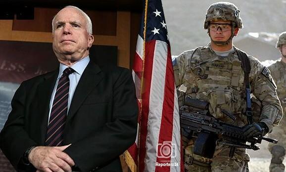 """John McCain: """"EEUU debe enviar tropas de inmediato a Venezuela. Debemos garantizar el flujo petrolero""""."""