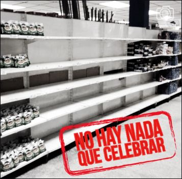 No hay nada que celebrar