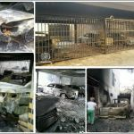 retaliacion vandalismo en san isidro maracay