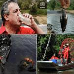 ENERGÍA, Eulogio Del Pino, presidente de Pdvsa, El hombre que bebió agua del río Guarapiche después del derrame de crudo de 2012