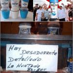 INSÓLITO, Venden la huntada de desodorante en Bs. 20