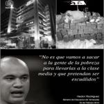 CORRUPCIÓN, Min. Rodríguez exigió14 habitaciones para parto de la mujer